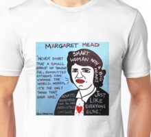 Margaret Mead Pop Folk Art Unisex T-Shirt