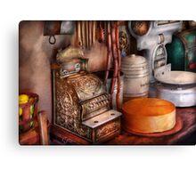 Americana - Store - The old Deli  Canvas Print