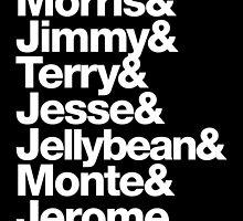 The Original 7ven Morris Day Jimmy Jam Merch by juk3box