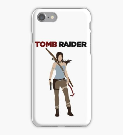 Lara Croft -  Tomb Raider iPhone Case/Skin