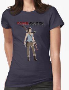 Lara Croft -  Tomb Raider Womens Fitted T-Shirt