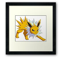 Jolteon - Pokemon (1) Framed Print