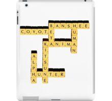 Species | Scrabble iPad Case/Skin
