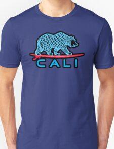 Cali Bear (Light Blue With Black Border) T-Shirt