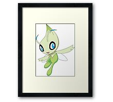 Celebi - pokemon (1) Framed Print