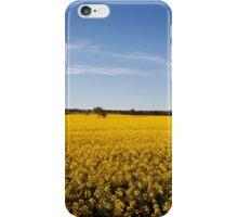 Rural sea of Canola iPhone Case/Skin