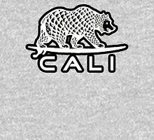 Cali Bear White with Black Unisex T-Shirt