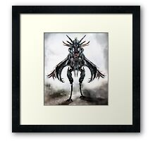 mounted creature Framed Print