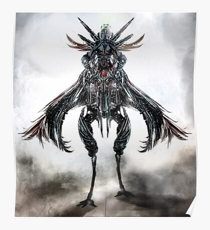 mounted creature Poster