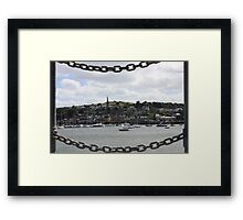 Cork Week Framed Print