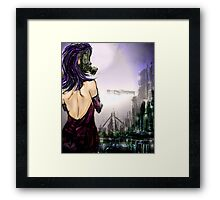 The night air Framed Print