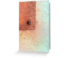 Metal Dispersion Greeting Card