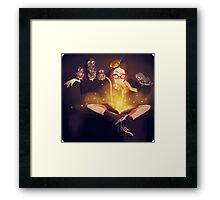 Harry Potter Original Character Framed Print