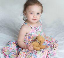 Rosalie in Classic Girly Dress by Samantha Van Stralendorff