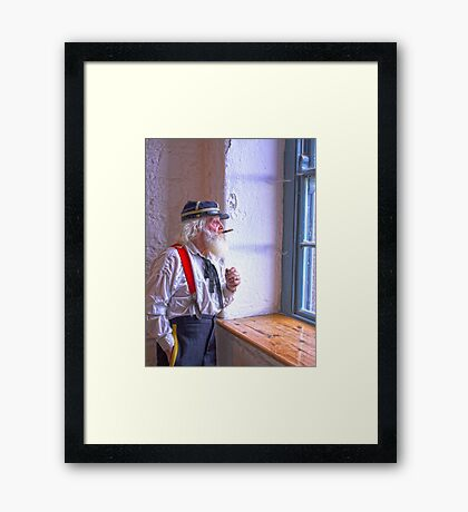Where are they now- Framed Print