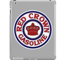 Red Crown Gasoline Shirt iPad Case/Skin