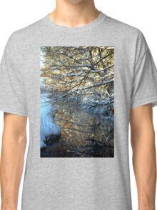 Snowy Creek Reflection Classic T-Shirt
