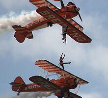 Breitling Wingwalkers - Wings & Wheels Dunsfold 2010 by pathseeker