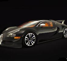 Bugatti ~ Veyron by deanharold