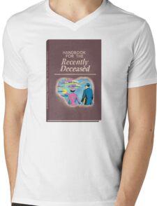 Handbook for the Recently Deceased Mens V-Neck T-Shirt