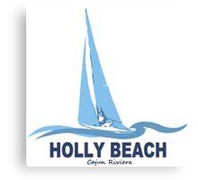 Holly Beach - Cajun Riviera. Canvas Print
