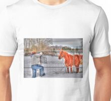 Lina and the Horse HDR Unisex T-Shirt