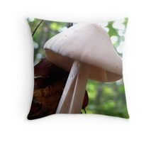 Split Stalk Throw Pillow