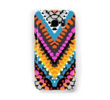 Chevron pattern wit dotted lines Samsung Galaxy Case/Skin