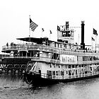 Steamboat Natchez - Mississippi River, New Orleans by Per Hansen