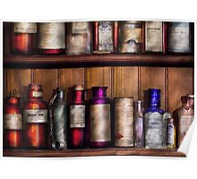 Pharmacy - Ingredients of Medicine  Poster