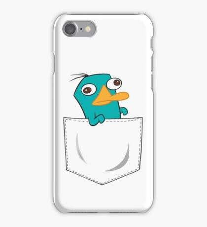Perry the Platypus Pocket iPhone Case/Skin