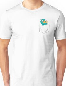 Perry the Platypus Pocket Unisex T-Shirt