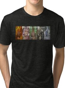 THE FIVE ELEMENTS !  BANNER TEE Tri-blend T-Shirt
