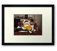 Bill Suicide Framed Print