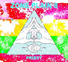 Zone Theory Zone Plain 8 Priest Tim and Eric by PrettyStuff