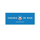 Fun Obama 2016 Coffee Mug by BroadcastMedia