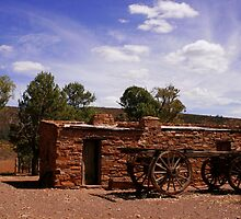 Australian Outback Building by jwwallace