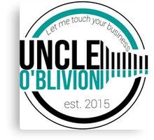 Uncle O'blivion Logo Canvas Print