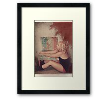 The Craziness Strikes Framed Print
