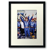Dario wins! Framed Print