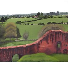 Kennilworth Castle, England by CanvasColor
