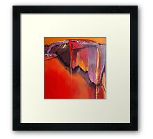 Earthquakes In Divers Places Framed Print