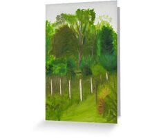 Landscape Study Greeting Card