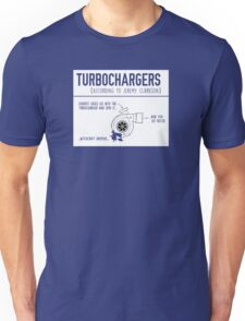 How Turbochargers work, By Jeremy Clarkson Unisex T-Shirt