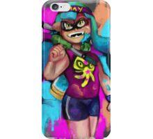 Splatoon: GET INKED SON iPhone Case/Skin