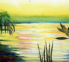 Waterside by John Moore