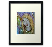 """""""Serene Angel"""" Framed Print"""