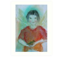"""Avian Angel"" Art Print"