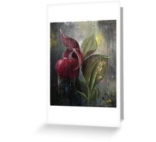 Orchid Bulb Greeting Card