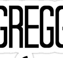 Team Gregg Sticker